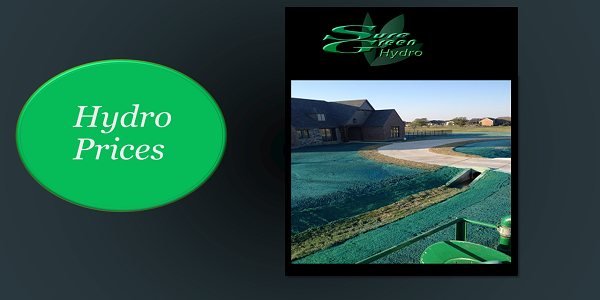 Sure Green Hydromulch Hydro Prices | Costs | Price